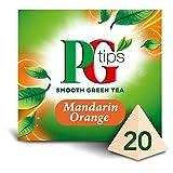 PG Tips Mandarin Orange Green Tea - 20's - Pack of 4 (20's x 4)