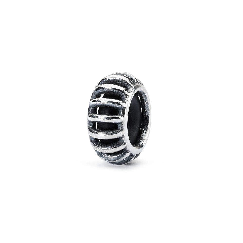 Trollbeads Damen-Bead Sonnenstrahl - Spacer 925 Silber - TAGBE-10164