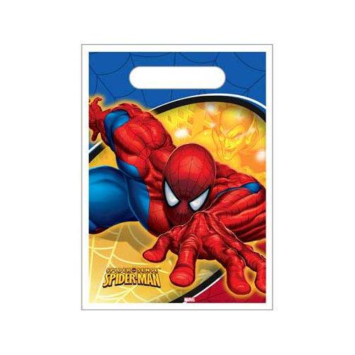 Spider Sense Spider Man Treat Sacks 8 Pack, Health Care Stuffs