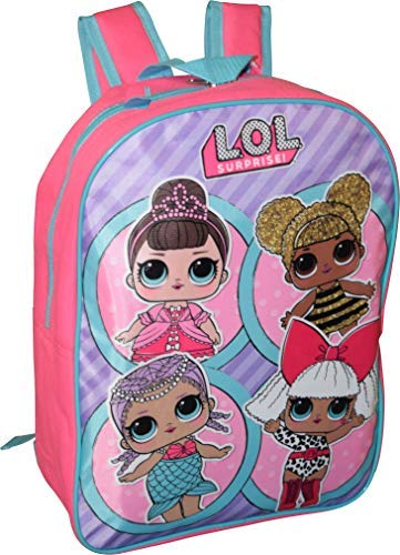 "Price comparison product image L.O.L Surprise! Girl's 15"" Backpack School Bag"