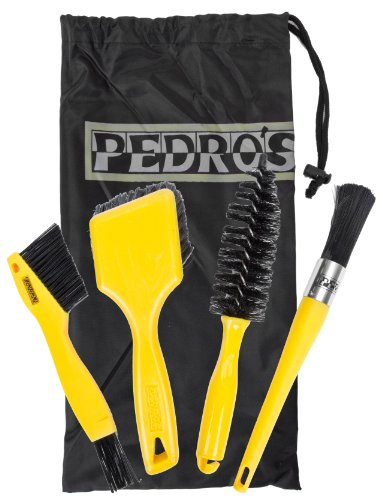 Pedro's Pro Brush Bicycle Cleaning Kit (5-Piece) by Pedro's (Image #1)