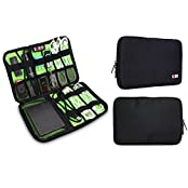 Portable Hard Drive Case Electronics Accessories Organize Bag / Usb Cable Organize Case / USB Drive Shuttle /...