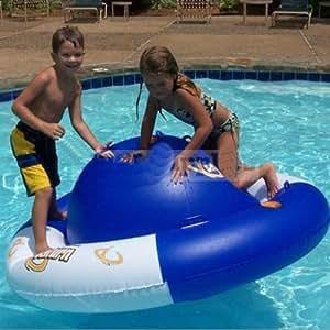 Aviva saturn rocker inflatable swimming pool - Amazon inflatable swimming pool toys ...