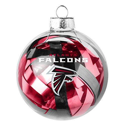 NFL Atlanta Falcons Tinsel Ball Ornament