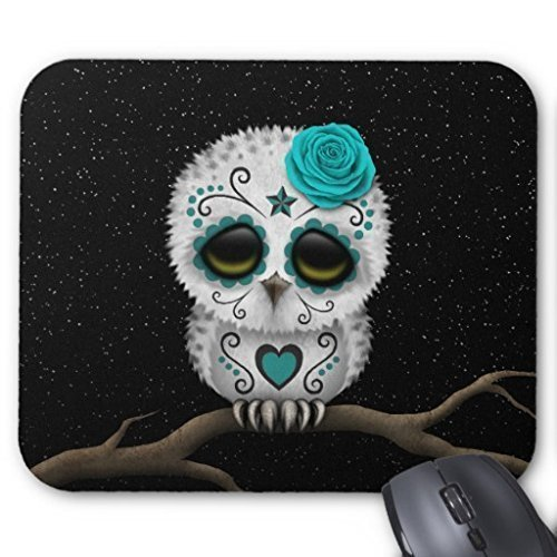 Alienware Computer Optical Gaming Mouse Pad Mat #8 Non-slip Neoprene Rubber Standard Rectangular Mousepad Is Made of a Durable Heat-resistant Polyester Fabric Top, Will Keep Your Mouse Rolling in Styl