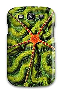 Galaxy S3 Case Bumper Tpu Skin Cover For Sea Creature Orange Green Background Nature Other Accessories