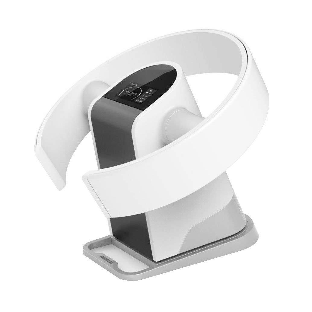 ZRNFAN [G18] Neuer blattloser Ventilator Haushalt Ultra-leises Tischventilator Wandventilator Bodenfernbedienungsventilator Sommer Must-haves Elektrischer Ventilator Geben Sie einen kühlen Sommer-Silverwhite