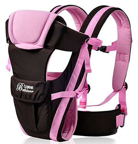 [2016 Updated 0-30 Months Multifunction Front Facing Baby Carrier Infant Sling Backpack Pouch Wrap Baby Kangaroo With Waist Belt (Pink] (Pictures Of Pikachu Costumes)