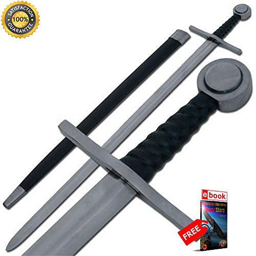 Medieval Single Hand Sir William Marshall Knights Sword PRIME Cosplay eBOOK by MOON KNIVES.