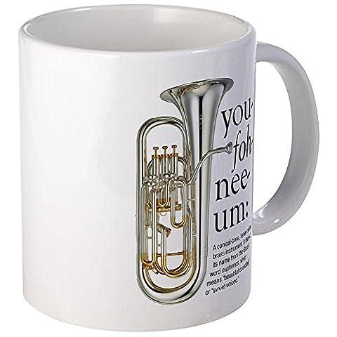 CafePress - You-Foh-Nee-Um Mugs - Unique Coffee Mug, Coffee Cup (Marching Band Mug)