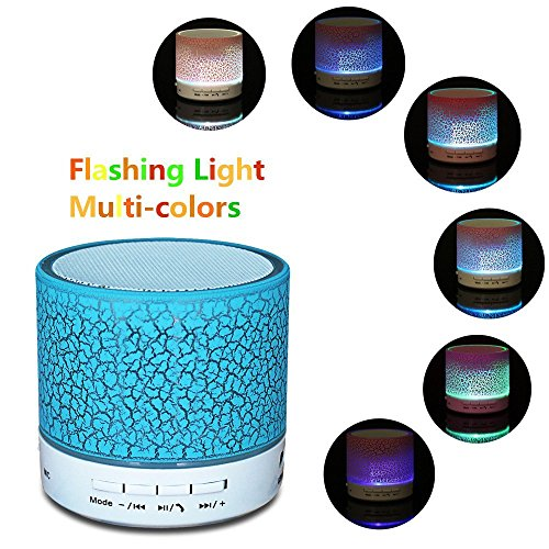 Bluetooth Wireless Portable Subwoofer Colorful