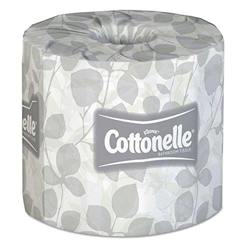 KCC 13135 Kleenex COTTONELLE Bath Tissue, Case of 20 Rolls