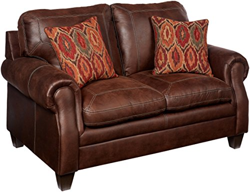 Simmons Upholstery 8069-02 Shiloh Sable Shiloh Loveseat