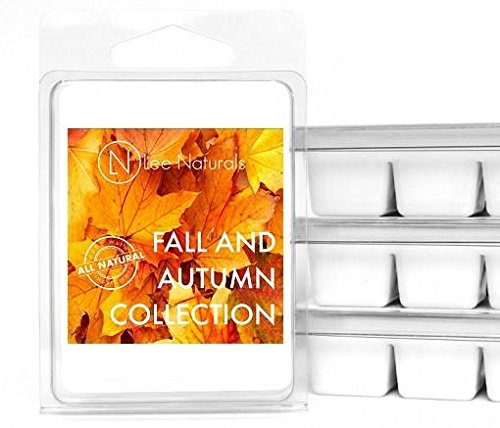 Lee Naturals Fall – Wax Melts (MANY SELECTIONS) Premium All Natural 6-Piece Soy Wax Melts. Hand made in USA. Naturally Strong Scented Soy Wax Cubes.