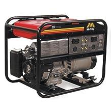 Mi-T-M GEN-4000-0MS0 Portable Generator with 211cc Subaru OHC engine, 4000W, Red/Black