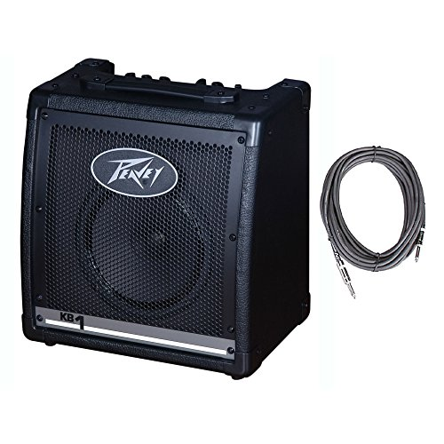Peavey KB1 8'' Compact Vented 20W Heavy Duty Keyboard Speaker Amplifier + Cable by Peavey