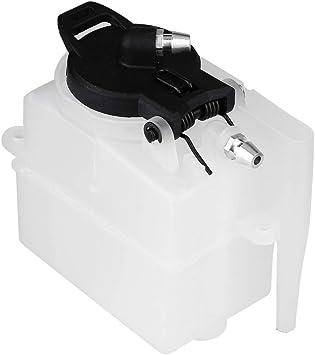 Dilwe Rc Kraftstofftank Kunststoff Gasantriebsfahrzeug Modellzubehör 75cc 02004 Kraftstofftank Für Hsp 94188 94122 1 10 Auto Spielzeug