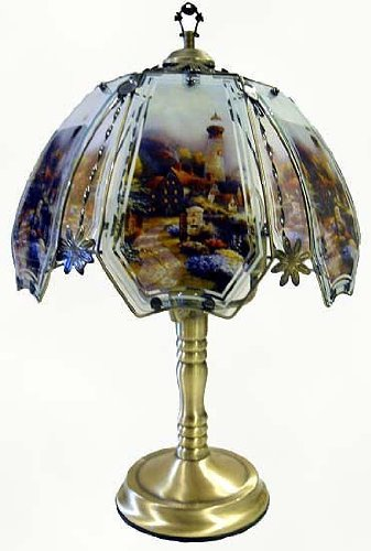 Lighthouse Touch Lamp 8 with Antique Brass Finish (Lighthouse Touch Lamp)