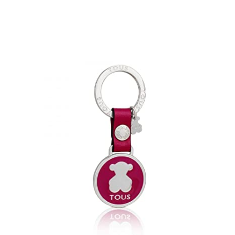 Llavero Circle Bear Fucsia: Amazon.es: Equipaje