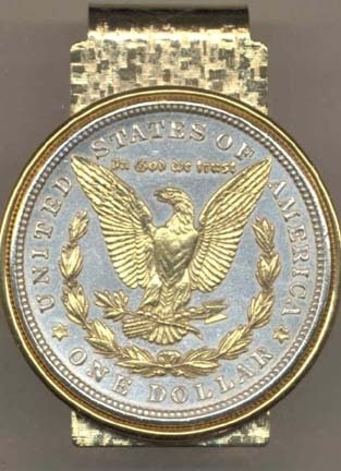 JOHNSON & JOHNSON Reverse Morgan Silver Dollar (1878 - 19...