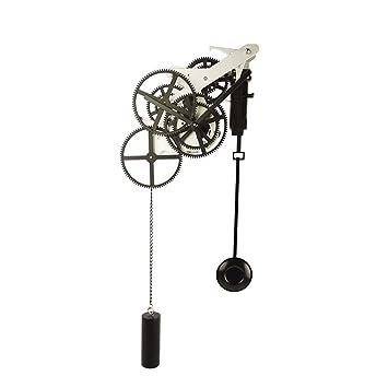campana del engranaje creativo saln relojes de pndulo del reloj de pared de forma automtica flip