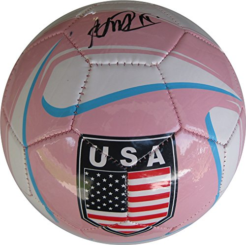Megan Rapinoe, Seattle Reign, USA Womens Soccer Team, Signed, Autographed, Pink USA Logo Soccer Ball, a COA with the Proof Photo of Megan Signing the Ball Will Be Included