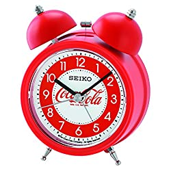 Seiko Coca-Cola Bell Alarm Clock - Red