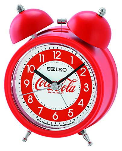 Seiko Coca-Cola Bell Alarm Clock - Red ()