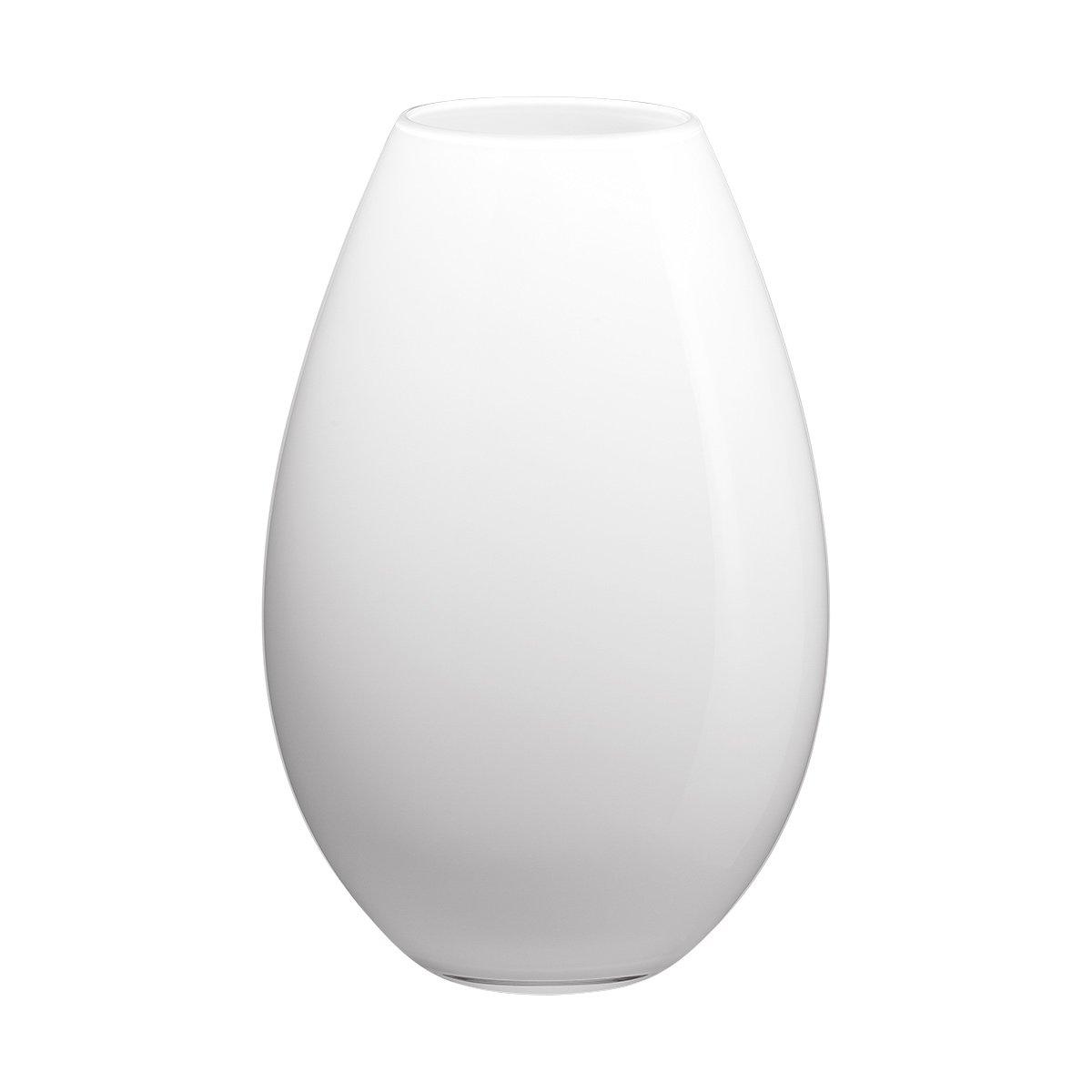 Holmegaard Cocoon Vase, weiß, H 26 cm