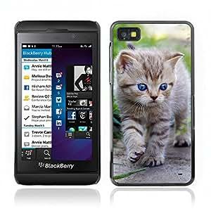 Carcasa Funda Case // V0000902 Cat Kitty Animal Pattern // BlackBerry Z10