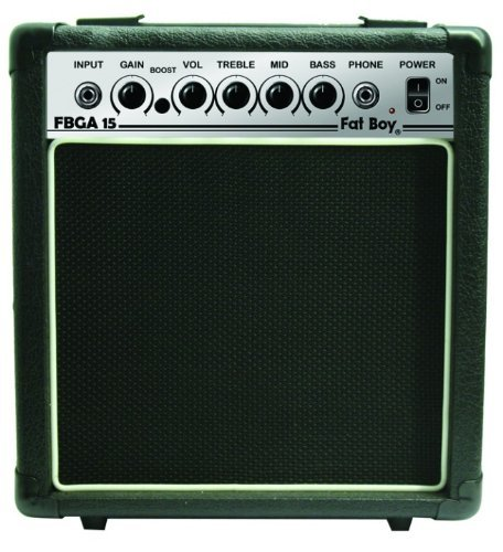 Fat Boy FBGA15 15 Watt Guitar Amp (15w Bass Amp)