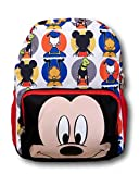 Disney Mickey Mouse Big Face 12' All Over Toddler Size Backpack