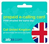 Prepaid Phone Card - Cheap International E-Calling Card $10 for United Kingdom