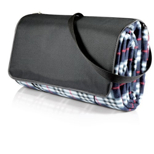 Picnic Blanket X Large Black Plaid