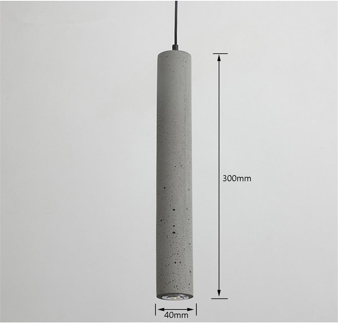 Creativo Hormigón LED Proyectores Iluminación colgante Moderno ...