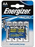 Piles AA Energizer Ultimate Lithium, Pack de 4