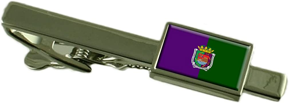Select Gifts Malaga City Spain Flag Tie Clip