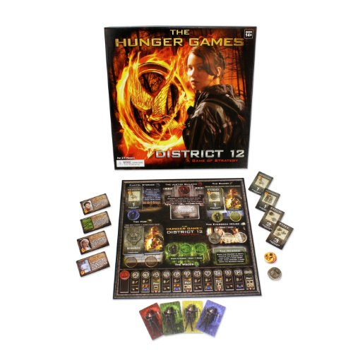The Hunger Games Movie The District 12 Strategy Game -