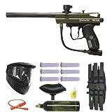 Spyder 2012 Spyder Victor Paintball Gun Marker Mega Package, Olive