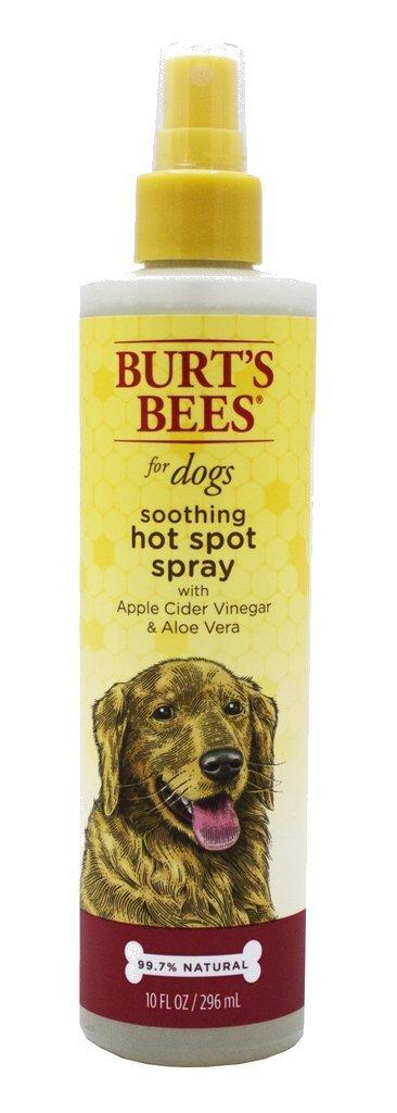 Burt's Bees for Dogs Natural Hot Spot Spray for Dogs | Relieves & Soothes Dog Hot Spots | Hot Spot Spray Made with Apple Cider Vinegar & Aloe Vera, 10 oz