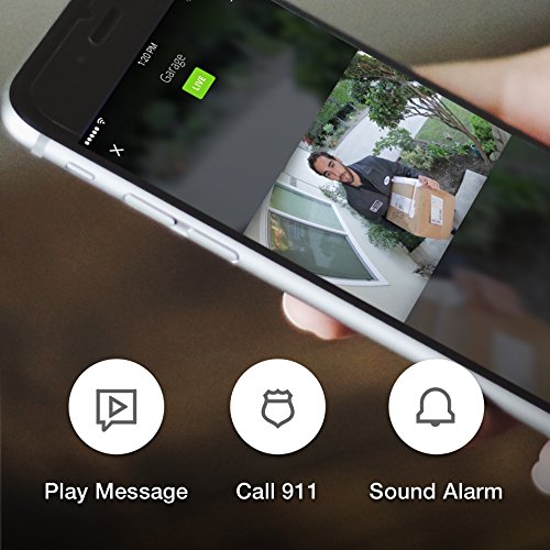 Maximus Video Security Camera & Outdoor Light - Craftsman Bronze - Works with Amazon Alexa by Kuna (Image #5)