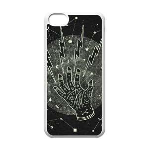 iPhone 5c Cell Phone Case White MOONLIGHT MAGIC JNR2031460