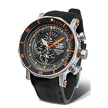 vostok-europe Lunokhod II multifunción buceo reloj cuarzo ym86/620a506
