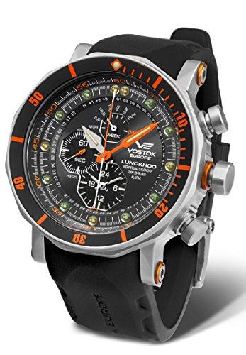 Vostok-Europe Lunokhod II Multi-Function Dive Watch Quartz YM86/620A506