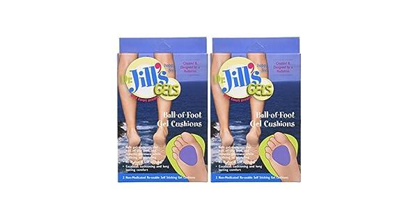Amazon.com: Almohadillas de gel Dr. Jills, autoadhesivas y ...