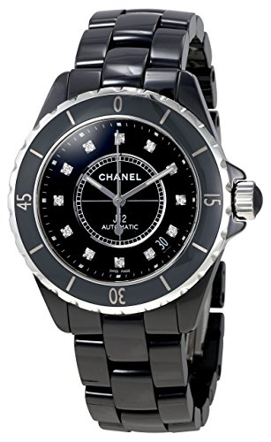 Chanel J12 swiss-automatic mens Watch H1626 (Certified Pre-owned)