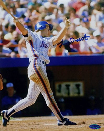 Lenny Dykstra Signed New York Mets 8x10 Photo OC Dugout Hologram (OC3) Oc3 Card