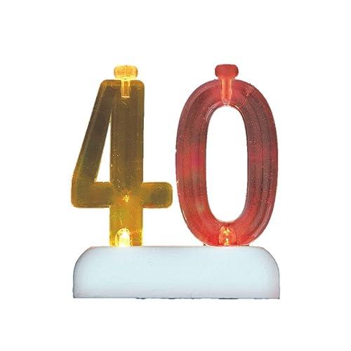 40th Birthday Candle: Amazon.co.uk