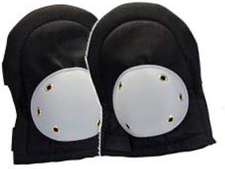 Hexoutils HX80813 Genouill/ères double protection PVC Noir