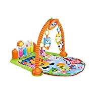 Totcraft Kick Activity Gym Play Mat Multi Function New Born Baby Piano Play and Kick